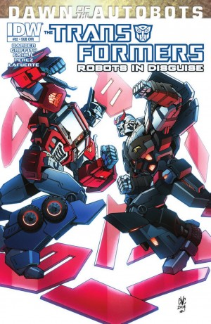 IDW Transformers: Robots in Disguise #32 Review