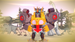 "Transformers Cyberverse episode 14 ""Siloed"" and episode 15 ""King of the Dinosaurs"" on Hasbro's YouTube channel"