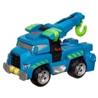Transformers News: Official Images: Transformers: Rescue Bots Hoist the Tow-Bot and