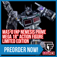 Transformers News: TFSource News! Mega Nemesis Prime, TR Overlord, MP-22 Ultra Magnus, Last Knight, Skiff / Gold & More!