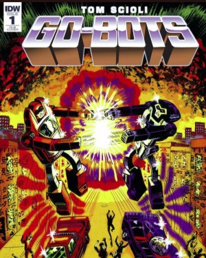 IDW Go-Bots #1 Review