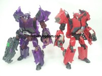 Transformers News: Takara Transformers Prime Arms Micron AM-08 Terrorcon Cliffjujmper & AM-09 Soundwave In-Hand Images
