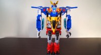 Japanese Language Review of Transformers Go! Jinbu, Ganoh and GoKenzan