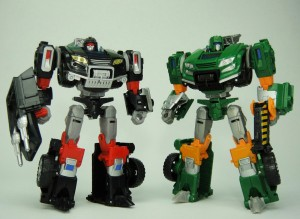 Transformers News: In-Hand Images: Takara Tomy Transformers Generations TG-26 Bumblebee Goldbug and TG-27 Trailbreaker and Hoist