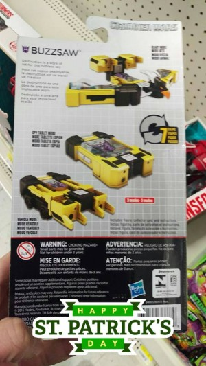 Transformers News: Generations Combiner Wars Legends Class Buzzsaw, Pipes, Chop Shop and Shockwave Sighted at US Retail