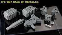 Transformers News: TFC Toys TF-007 Rage of Hercules Official Images