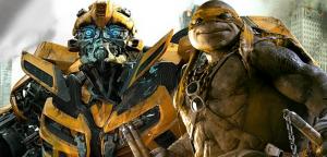 Transformers News: Bumblebee to Appear in Teenage Mutant Ninja Turtles 2 - Sort Of