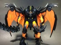 Transformers News: Video Review: Transformers Prime Beast Hunters Ultimate Class Beast Fire Predaking