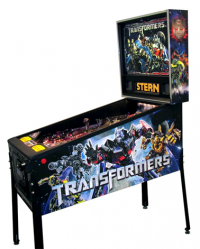 Transformers News: Images of Stern's Transformers Pinball Machine