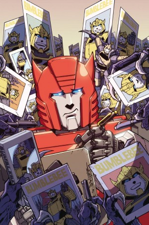 Transformers Galaxies #5 Cover Revealed Complete with Process of Production