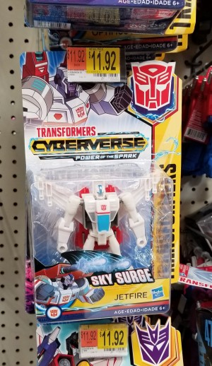 Cyberverse Warrior Class Jetfire Found at U.S. Retail