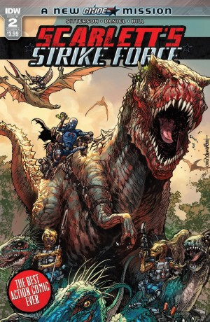 Review of IDW Scarlett's Strike Force #2