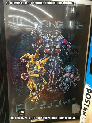 Transformers News: New Transformers: The Last Knight Poster Found At Retail