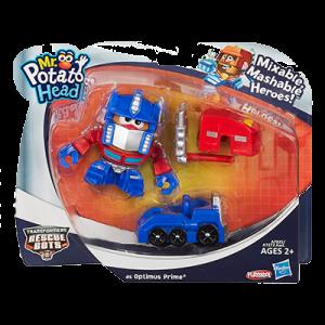 Transformers News: Mr Potato Head Mixable, Mashable Transformers Optimus Prime and Starscream at HasbroToyShop.com