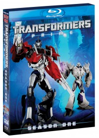 Reminder: Transformers Prime the Complete First Season on Blu-ray and DVD Today!