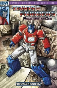 Transformers News: Transformers Regeneration One #80.5 Deconstructed
