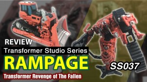 Transformers News: Transformers Studio Series 37 Voyager Constructicon Rampage Video Review