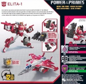 Transformers News: Packaging and Bios for Transformers Power of the Primes Inferno, Elita-1, Hun-Gurrr, Moonracer.. and Blast Off
