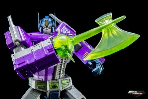 Transformers News: More Masterpiece Shattered Glass Optimus Prime images from Hasbro Asia