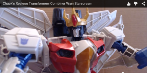 First Review of Transformers Generations Combiner Wars Leader Starscream