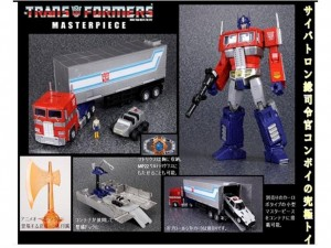 Transformers News: MP-10 Masterpiece Convoy / Optimus Prime with Trailer Reissue