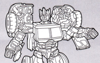 Alternate Head for Reveal the Shield G2 Optimus Prime