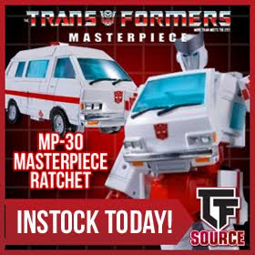 Transformers News: TFsource Weekly Source News: MP Ratchet, Legends Deadlock, MP Shockwave and More!