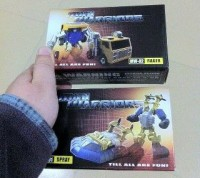 In Box images of Igear MW-01 Spray and MW-02 Rager