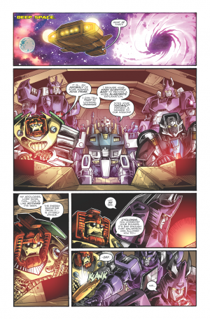 Transformers News: Sneak Peek: Transformers: Dark Cybertron #1