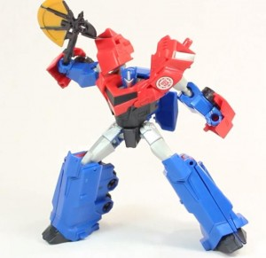 Video Review - Transformers Robots in Disguise Warrior Optimus Prime