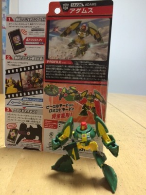 June Takara Tomy Transformers Adventure toys available and found at Japan retail