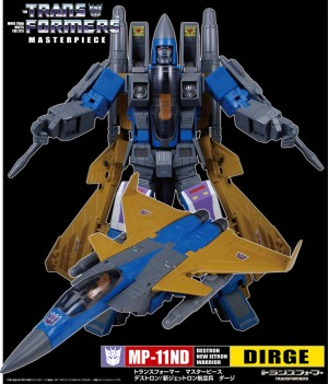 Masterpiece MP-11ND Dirge New Stock Images