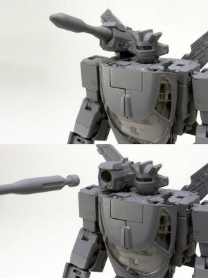 Transformers News: A Closer Look at Takara Tomy's Transformers Masterpiece MP-20 Wheeljack Shoulder Mounted Weapon