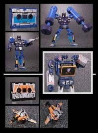 Transformers News: New Images: MP-10B Black Convoy, MP-15 Rumble / Ravage, MP-16 Frenzy / Buzzsaw, Encore #20A, Encore #23 Fortress Maximus