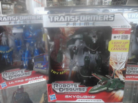 Transformers News: Transformers Prime Voyager Class Skyquake Spotted in the US