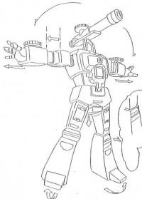 Transformers News: Ark Addendum Update - Perceptor's Transformation Sequence