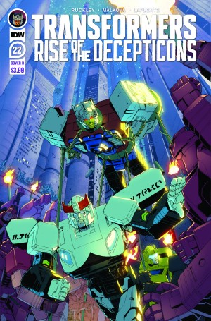 IDW Transformers #22 Review