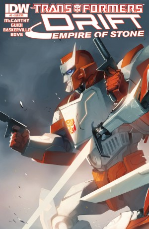 Transformers News: IDW Transformers Drift: Empire of Stone #3 Review