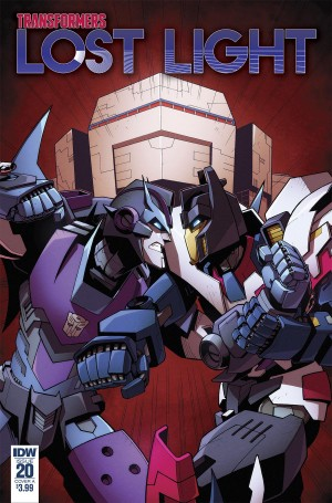 Preview for IDW Transformers: Lost Light #20