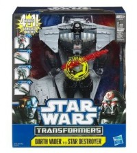 Star Wars Transformers Darth Vader Quad Changer Now in Stock at Target.com