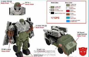 Leaked Designs for Transformers: The Last Knight Turbo Change Hound and Barricade