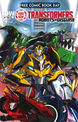 IDW FCBD 2015 Transformers: Robots in Disguise #0 Preview