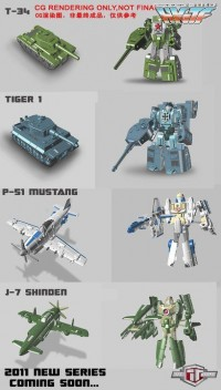 TFClub WWII Style Figure Color CG Images