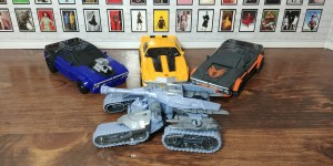 Transformers News: Transformers Bumblebee Movie Power Class Wave 1 Review with Megatron, Hot Rod, Dropkick and Bumblebee #JoinTheBuzz