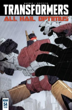 Sneak Peek - IDW The Transformers #54 iTunes Preview