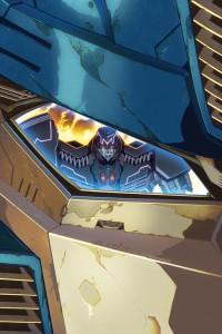 Alex Milne Sketchbook: The Transformers Cover Art