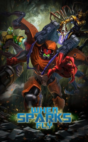 """Transformers: Legends Mobile Event """"When Sparks Fly"""""""