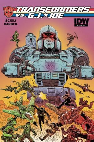 IDW Transformers vs. G.I. Joe #3 Subscription Cover