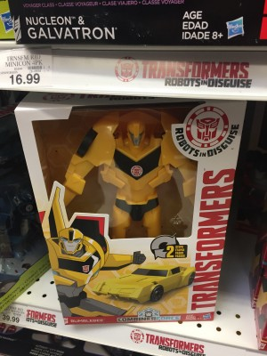 Transformers News: Robots in Disguise Titan Change Heroes Repackaged and Spotted at Retail