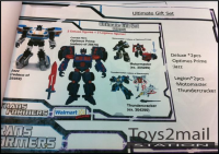 Transformers News: Walmart Exclusive Generations Deluxe and Legion Class 4 Pack